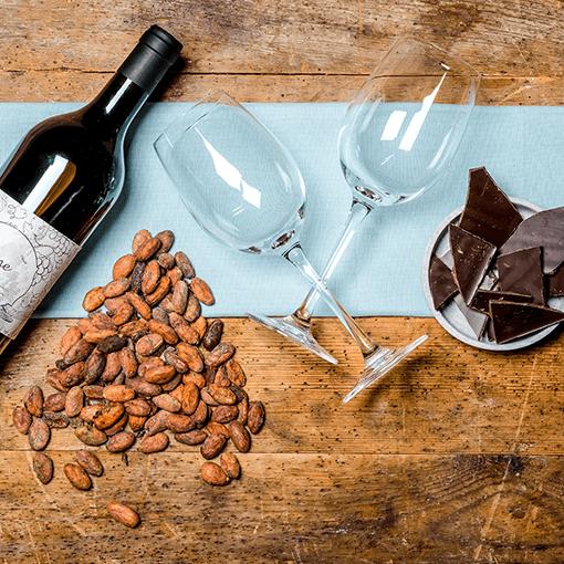 Wein Schokolade Verkostung