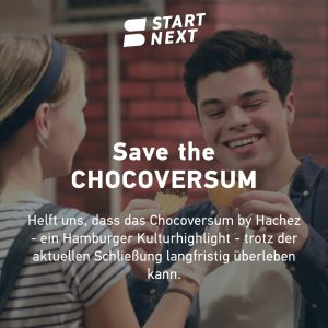 Startnext Crowdfunding Chocoversum